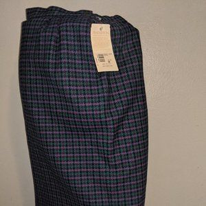 Penedleton Pencil  Houndstooth Skirt Excellent Con